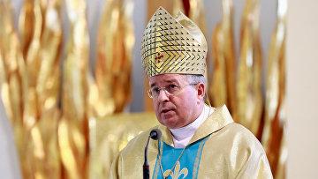 Посол Святого престола (Апостольский нунций) в Российской Федерации архиепископ Иван Юркович