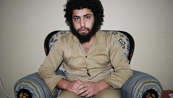 Абдуррахман Абдулхади – боевик группировки ДАИШ, взятый в плен курдскими силами самообороны в Сирии