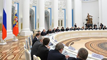 Президент РФ В. Путин провел заседание Совета по культуре и искусству при президенте РФ