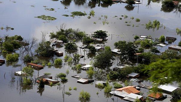 Наводнение в Парагвае, Асунсьон, 20 декабря 2015 года