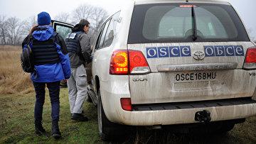 Миссия ОБСЕ. Архивное фото