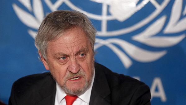 Специальный представитель генерального секретаря ООН, глава миссии всемирной организации в Афганистане Николас Хейсом