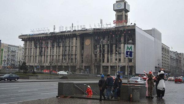 Киев перед Новым Годом. Архивное фото