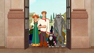 Кадр из мультфильма Иван Царевич и Серый волк. Архивное фото