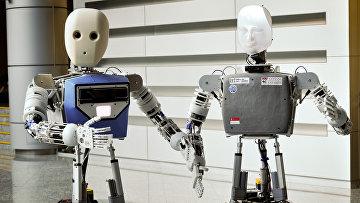 Роботы. Архивное фото