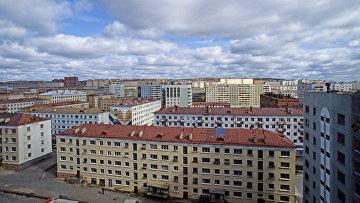 Вид на город Дудинку. Архивное фото