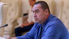 Глава самопровозглашенной Луганской Народной Республики Игорь Плотницкий. Архивное фото