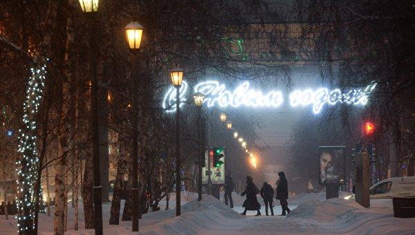 Зима в Новосибирске. Архивное фото