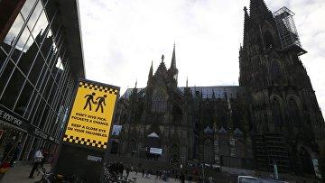 Предупреждение о карманниках в Кельне, 5 января 2016