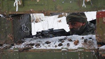 Бойцы ополчения ДНР. Архивное фото