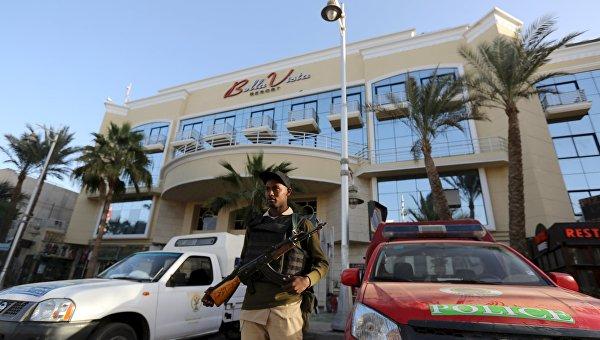 Отель в Хургаде, на который было совершено нападение
