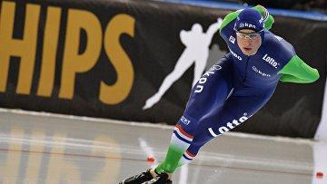 Конькобежный спорт. Чемпионат Европы. Первый день