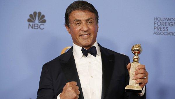 Сильвестр Сталлоне получил премию Золотой глобус как лучший актер второго плана