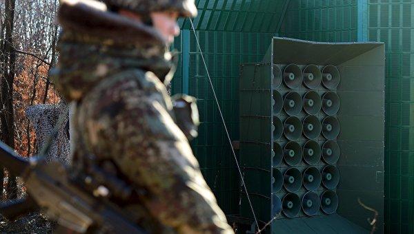 Южнокорейские звуковещательные установки