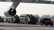 Российская военная техника на авиабазе Хмеймим. Архивное фото