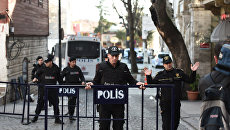 Полиция на месте взрыва в Стамбуле. Архивное фото