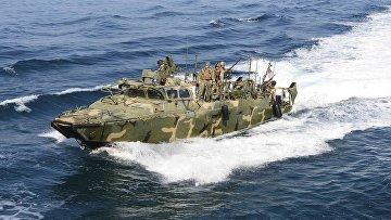 Патрульный катер ВМС США в Персидском заливе
