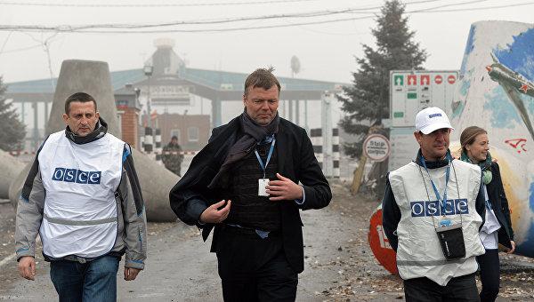 Заместитель председателя специальной мониторинговой миссии ОБСЕ на Украине Александр Хуг. Архивное фото