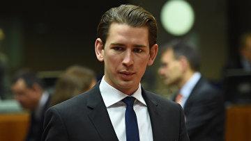 Министр иностранных дел Австрии Себастьян Курц. Архивное фото