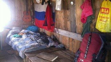 Жилье отшельника Олега, перевал Дятлова