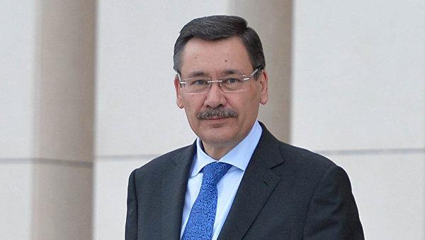 Мэр Анкары Мелих Гёкчек. Архивное фото