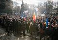 Акция протеста оппозиции в Молдавии. Архивное фото