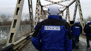 Сотрудник ОБСЕ. Архивное фото