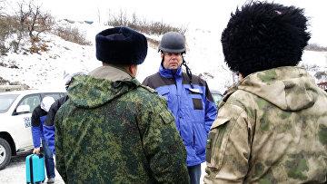 Первый заместитель главы Специальной мониторинговой миссии (СММ) ОБСЕ Александр Хуг