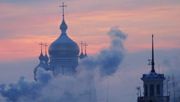 Спасо-Преображенский собор в Хабаровске