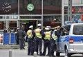 Германская полиция в городе Кёльн