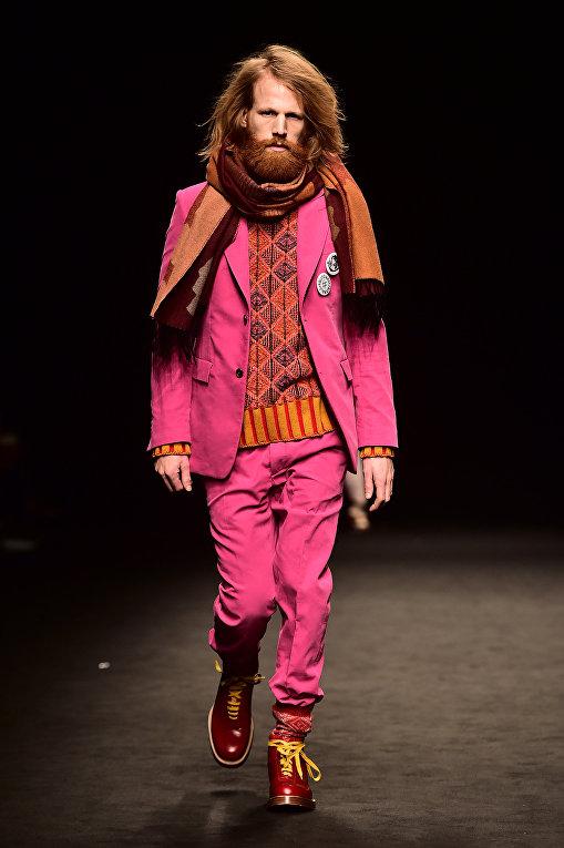 Показ коллекции Vivienne Westwood во время Недели мужской моды в Милане