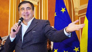 Губернатор Одесской области Михаила Саакашвили. Архивное фото