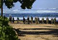 Поисковая группа пропавших морских пехотинцев в результате столкновения военных вертолетов. 18 января 2015