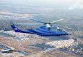 Вертолет-лаборатория, созданный на базе боевого вертолета Ми-24К во время испытаний
