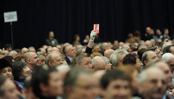 Съезд союза кинематографистов России. Архивное фото