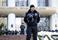 Акция протеста в Кишинёве с требованием проведения досрочных парламентских выборов
