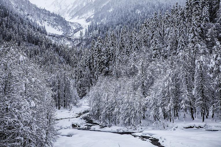 Горная Абхазия. Страна Тайного духа природы