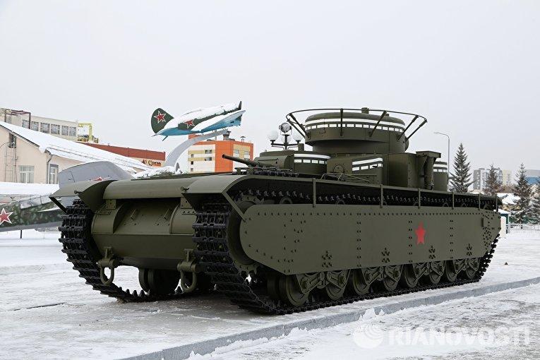В Свердловской области по советским чертежам воссоздали танк Т-35