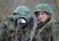 Учения бригады специального назначения ЮВО