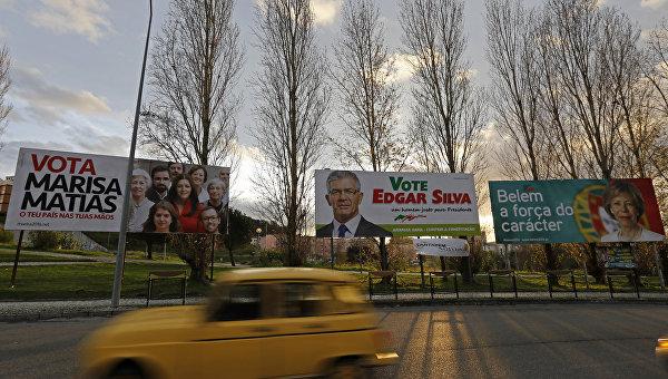 Предвыборная агитация в Португалии, январь 2016