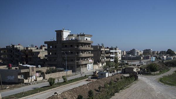 Город Камышли в провинции Эль-Хасаке на северо-востоке Сирии. Архивное фото.