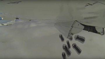 Бомбардировщики Ту-22М3 нанесли удары по террористам в Сирии. ВИДЕО