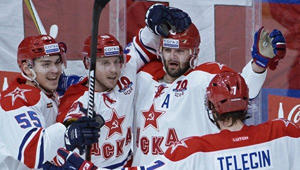 Хоккей. КХЛ. Матч СКА - ЦСКА. Архивное фото