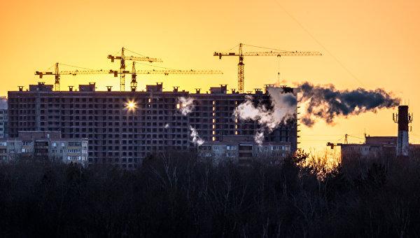 Закат солнца. Архивное фото