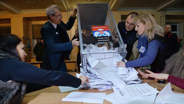 Киев потребовал отмены выборов прошлого года вДонбассе