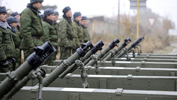 Отвод военной техники завершился в ДНР. Архивное фото