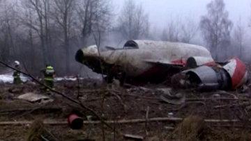 Самолет президента Польши Леха Качиньского Ту-154, архивное фото