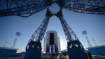 Стартовый комплекс космодрома Восточный в Амурской области. Архивное фото