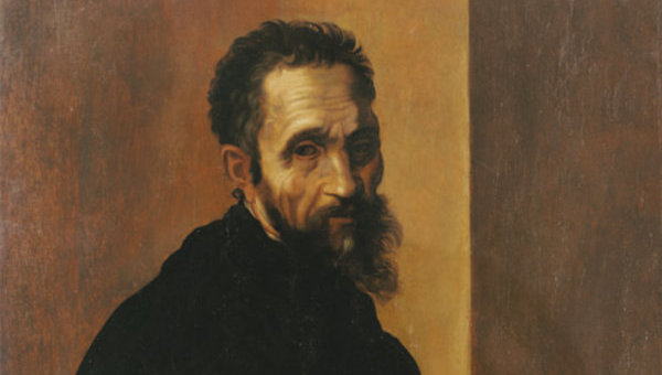 Портрет Микеланджело кисти Джакопино дель Конте