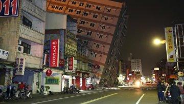 Последствия землетрясения на Тайване, 6 февраля 2016